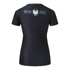 SYJON T-Shirt Captain America Civil War Tee 3D Printed T-shirts Women Marvel Avengers Short Sleeve Fitness Clothing dropship