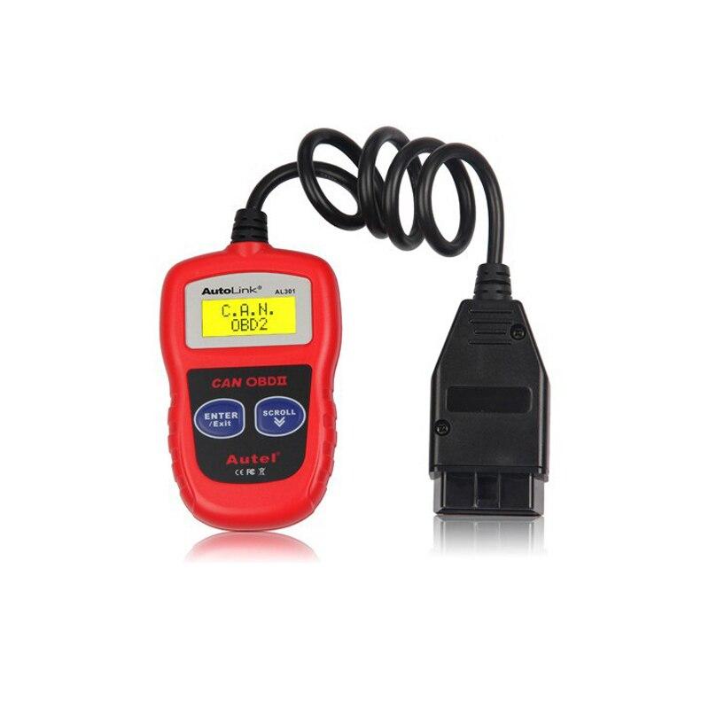 Autel AutoLink AL301 OBDII OBD2 CAN Code Reader Scanner Auto Fault Diagnostic Scan tools