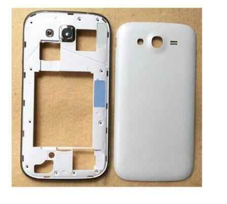 Original Middle Bezel Frame Battery Door Cover Case For Samsung Galaxy Grand Neo i9082 Housing+Camera Glass +Side Button