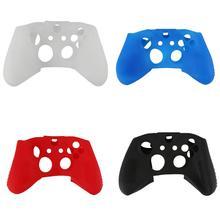 חדש רך סיליקון גומי עור Gamepad מגן מקרה כיסוי משחק Pad ג ויסטיק אביזרי עבור Microsoft Xbox אחד S בקר