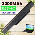 14.4 В Аккумулятор для Ноутбука Asus A32 k53 A42-K53 A31-K53 A41-K53 A43 A53 K43 K53 K53S X43 X44 X53 X54 X84 X53SV X53U X53B X54H