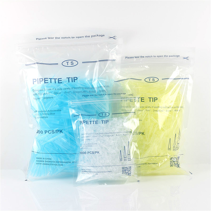 Disposable Sterile Pipette Tips, Single Use Tip White 5*32mm/yellow 5.5*50mm/blue 8*71mm, Universal Tip For 10ul/200ul/1000ul