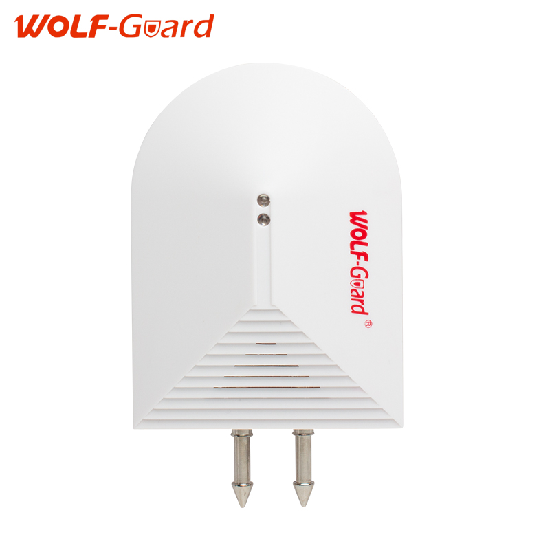 Wireless 433mhz WOLF-Guard Water Leak sensor for gsm alarm system Wired leakage alarm se ...
