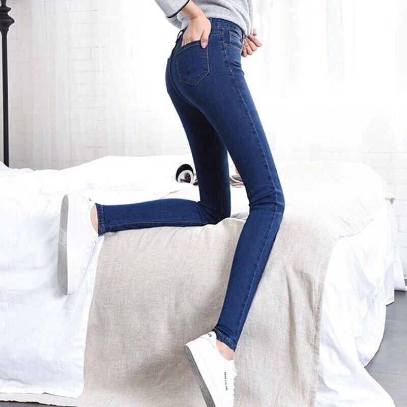 Women`s Plus Size High Waist Washed Light Blue True Denim Pants Boyfriend   Jean   Femme For Women   Jeans   PP030