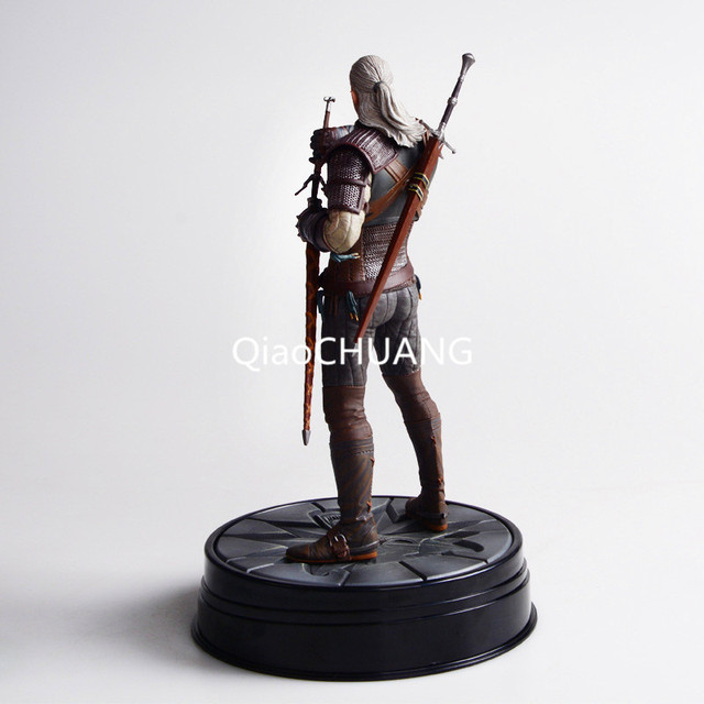 The Witcher 3: Wild Hunt Geralt Of Rivia Movie Figures Action & Toy Figures PVC Model Collection For Brinquedos Retial Box 2