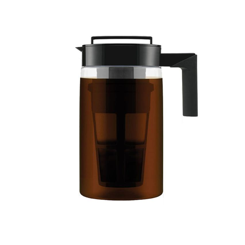2018 NEW FASHION 900ML Cold Brew Iced Coffee Maker With Airtight Seal Silicone Handle Coffee Kettle 0527