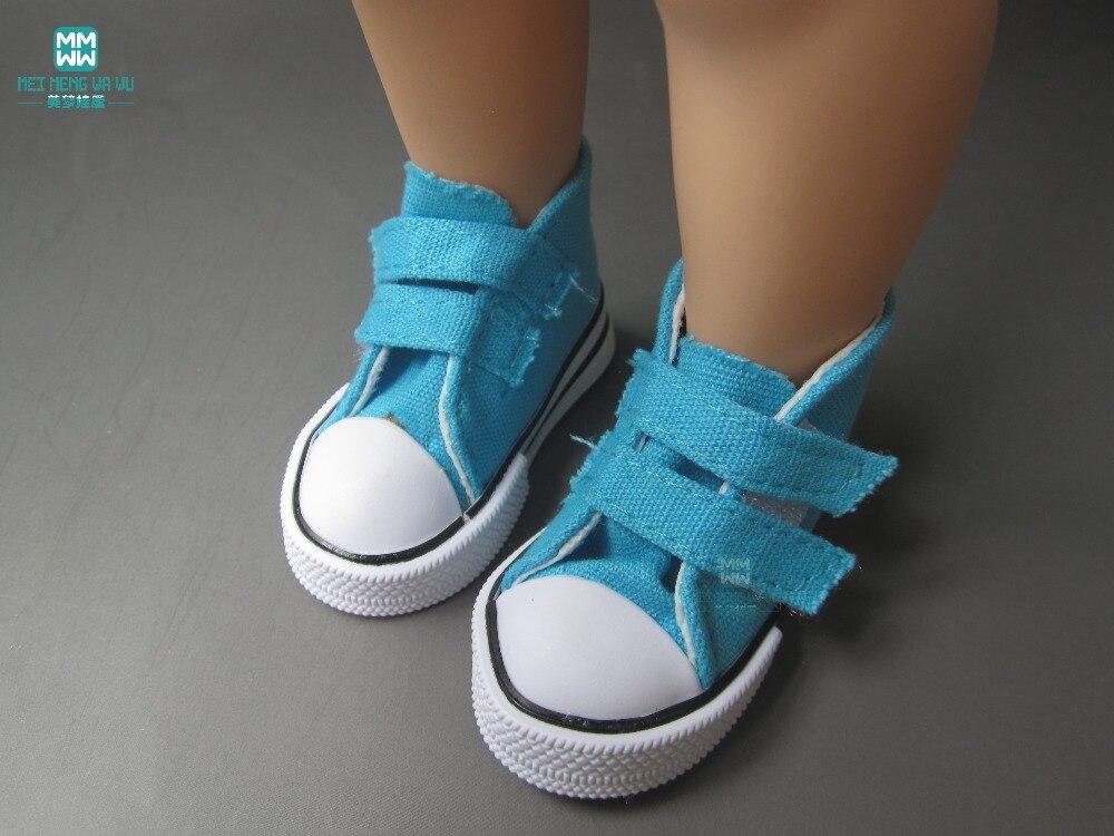 Aksesoris Boneka Mini Sepatu grosir ulticolor 7.5cm Sepatu Kanvas - Boneka dan mainan lunak - Foto 3