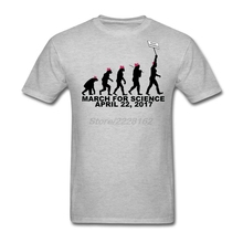 Crew neck man Musically t shirt March For Science Nice  garment For Brother Get Printed men Tee