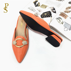 Image 2 - Womens shoes in summer PU sole slippers for ladies Womens pointed shoes