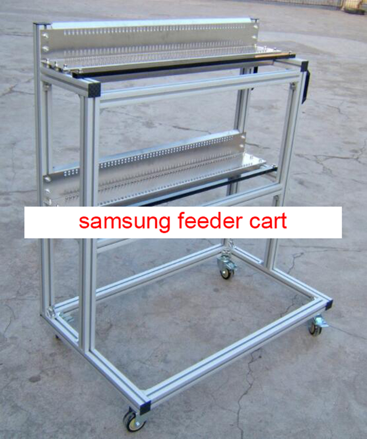 feeder storage cart feeder storage trolley for samsung SM series pick and place machine juki mechanical feeder cart storage trolley cart