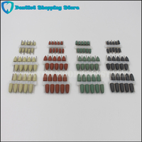 120pcs HP Silicone Rubber Polisher for dental lab Porcelain Metal Teeth 2.35mm