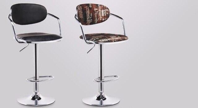North american parrucchiere sedia girevole sgabello libero di