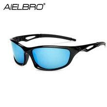 AIELBRO Men Women Polarized Sport Glasses Fishing Driving Eyewears Bicycle Bike Riding Sun gafas ciclismo