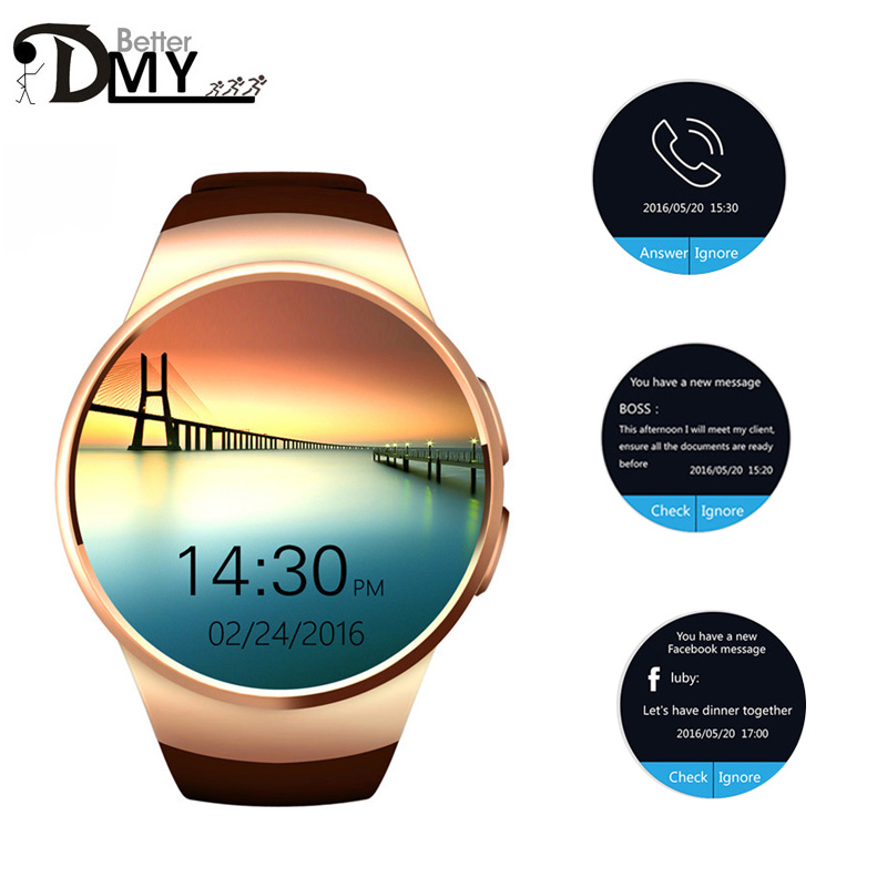 New Heart Rate monitor Smart Watch MTK2502 BT4 0 for ios xiaomi Android Samsung gear s2
