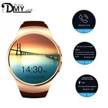 ใหม่H Eart Rate monitorสมาร์ทนาฬิกาMTK2502 BT4.0สำหรับios xiaomi A Ndroidซัมซุงเกียร์s2 r elojนาฬิกาอัจฉริยะKW18 s mart w atch