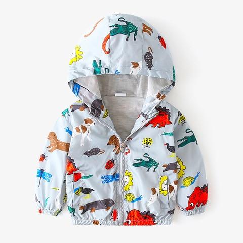 Camouflage Dinosaur Children Coat Baby boy jacket  Autumn Kids Jacket Boys Outerwear Coats Boy Windbreaker Baby Clothes Clothing Karachi
