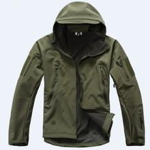 TAD V 4.0 Lurker Shark Skin Military Tactical Softshell Jacket Men Windbreaker Waterproof Hoodie Clothes