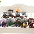 1 piece 30CM 2016 new style Creative Plants vs Zombies plush toys baby toys cartoon doll Halloween gift for children