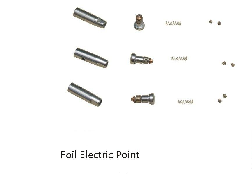 Foil electric point, Foil tip, Foil point, Fencing