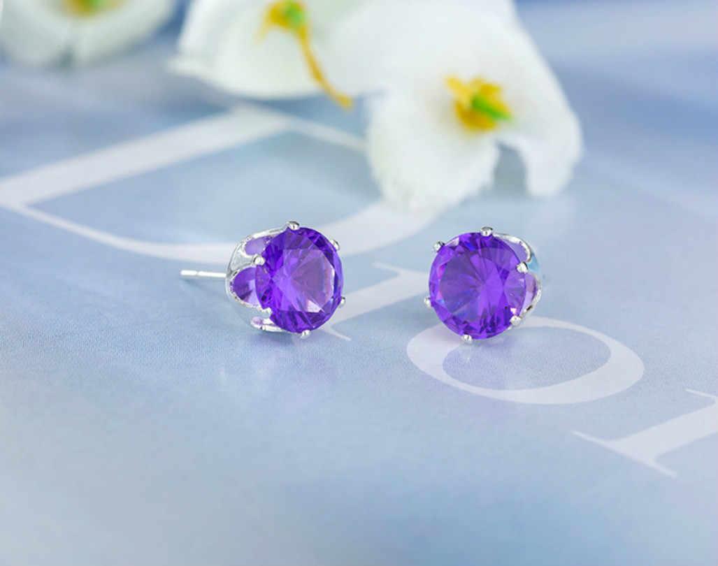 Modeschmuck Luxus Österreichischen Kristall Ohrringe Cz Stein Ohrringe Elegante Böhmen Ohrringe New Erklärung Weibliche Ohrringe