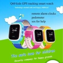 2016 beste Q60 nette kinder SmartWatch GPS LBS doppel lokalisierung sicher für kinder Schlafen Monitoring anti-verlorene