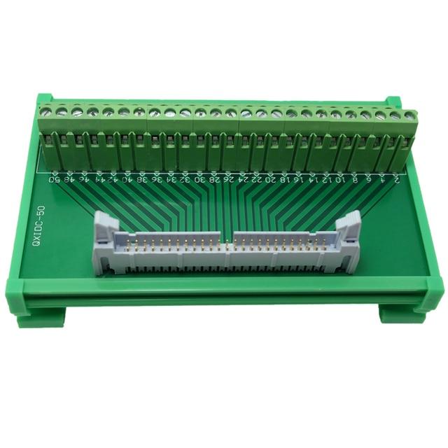 Sensational Idc50 Breakout Board Adapter Wiring Module Splitter Idc 50 Pin Wiring Digital Resources Otenewoestevosnl