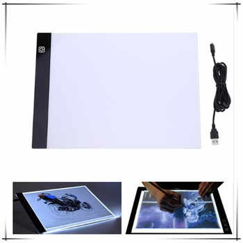 A4 Writing Diamond Painting Light Box Tracing Board Copy Pads Tablet Artcraft Copy Table LED Board Adjustable light source - DISCOUNT ITEM  40% OFF All Category