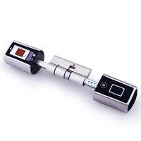 We.lock double side system lock fingerprint door lock remote control door use