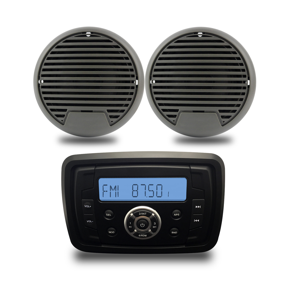 Étanche Marine stéréo Bluetooth Radio Audio voiture lecteur MP3 FM AM 3