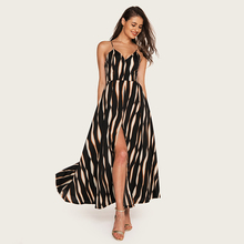 AcFirst Summer Red Black Women Long Dress Backless Holiday High Leg Sexy Plus Size Sundress Evening Party Dresses Beach