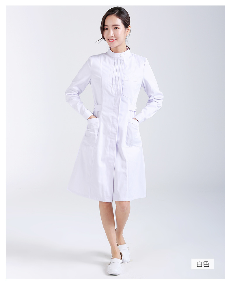 Women's Winter Sweater Medical Uniforms Beauty Salon Medical Scrub Nurse Uniform Dental Clinic Long Sleeve Clothes Slim Fit
