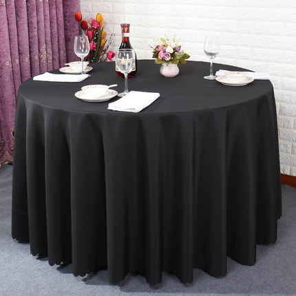 Wholesale hotel plain tablecloth dining table cloth hotel restaurant tablecloth square round tablecloth