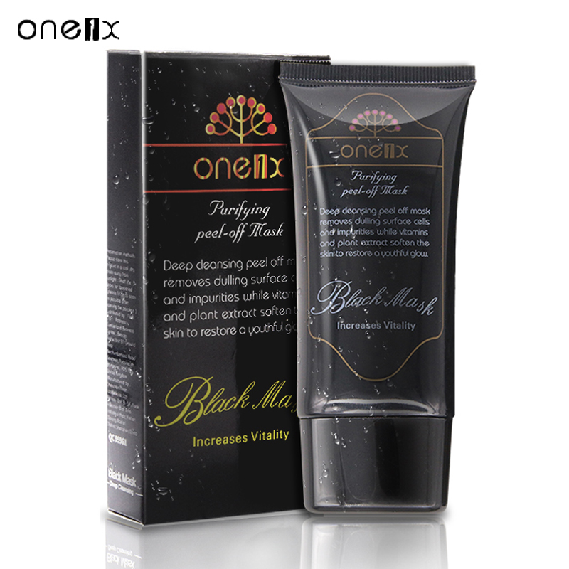 Deep Cleansing black head Acne Treatment black mask blackhead remover Facial Mask face peel off mask