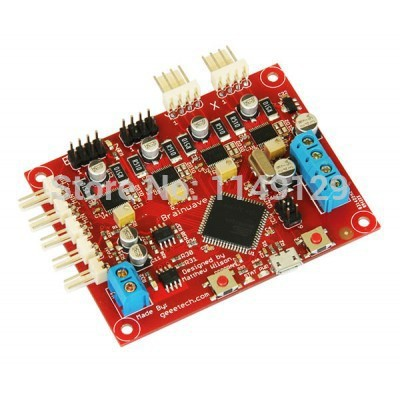 Geeetech Brainwave Reprap Controller for Reprap 3D printer Derived from Sanguinololu geeetech rumba 3d controller board atmega2560 for mentel reprap prusa 3d printer