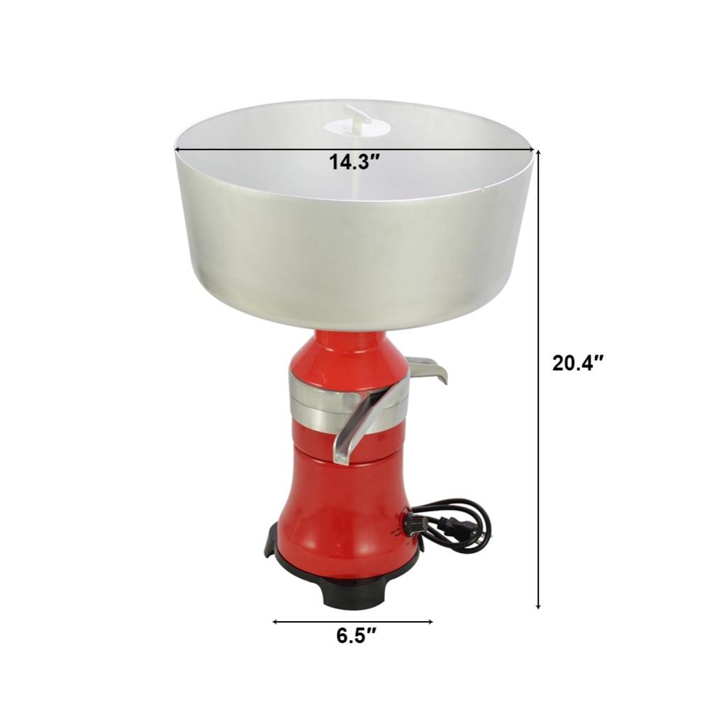 Séparateur centrifuge électrique crème de lait frais métal 80L/h-in Écrémeuses manuelles from Maison & Animalerie    2