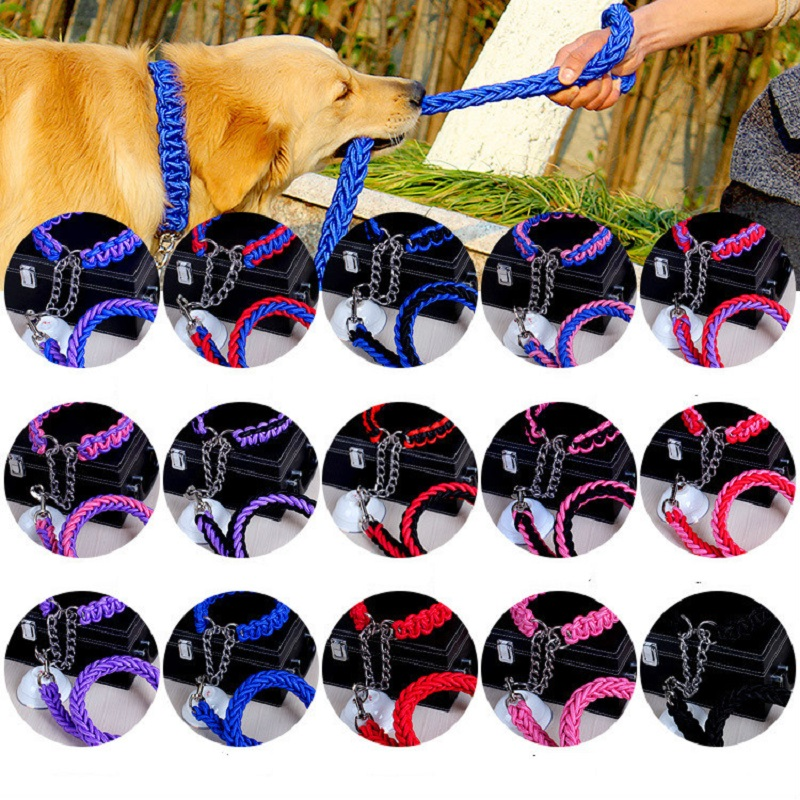 Braided Nylon Martingale Collar 1