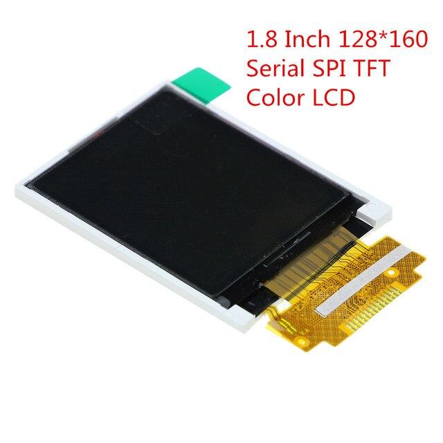 1,8 дюймов 128*160 серийный SPI TFT Цвет ЖК-дисплей модуль 128x160 Дисплей ST7735 с SPI Интерфейс 5 IO Порты для arduino Diy Kit