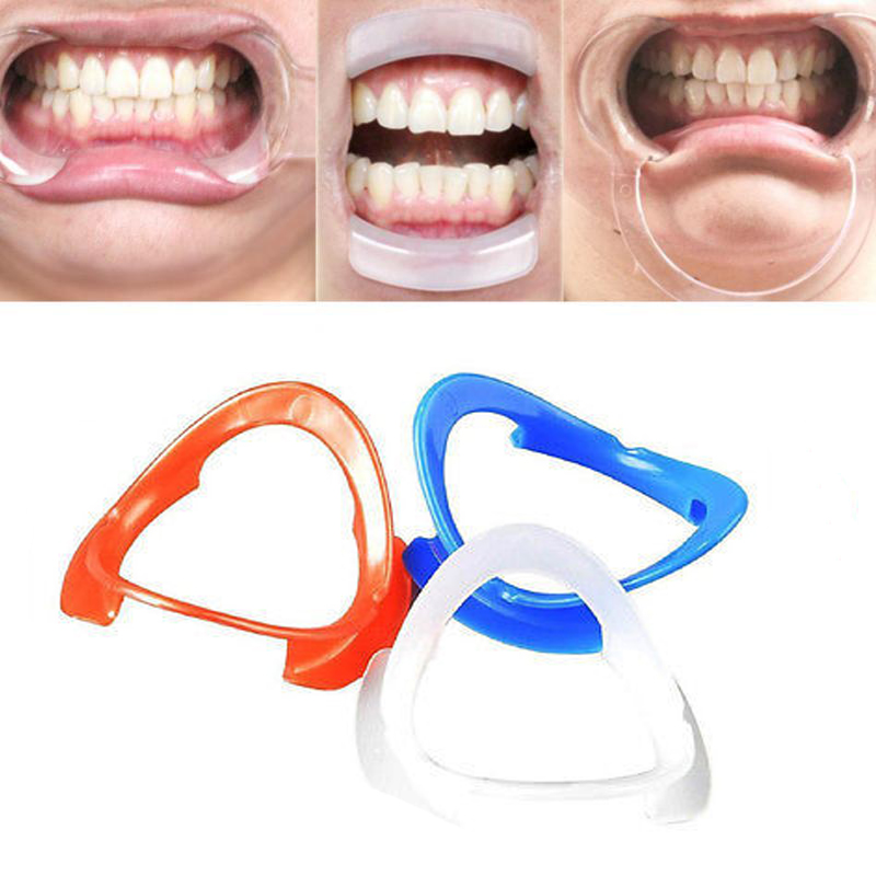 5pcs Autoclavable Dental Teeth Whitening Lip & Cheek Retractor Dentist Mouth Opener Repeat Use o Type