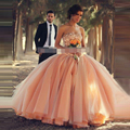 Champagne Vestidos Quinceanera com Cristal Brilhante Vestidos de Baile vestidos de vestido de Baile Para Adolescentes 15 anos Lace Up Custom Made
