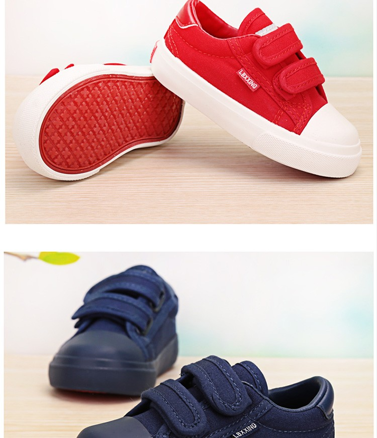 Beautiful Baby Girl and Boy White Canvas Shoes 6 Colors kids Casual Shoes Flat and Durable Toddler Little Girl Sneakers 13