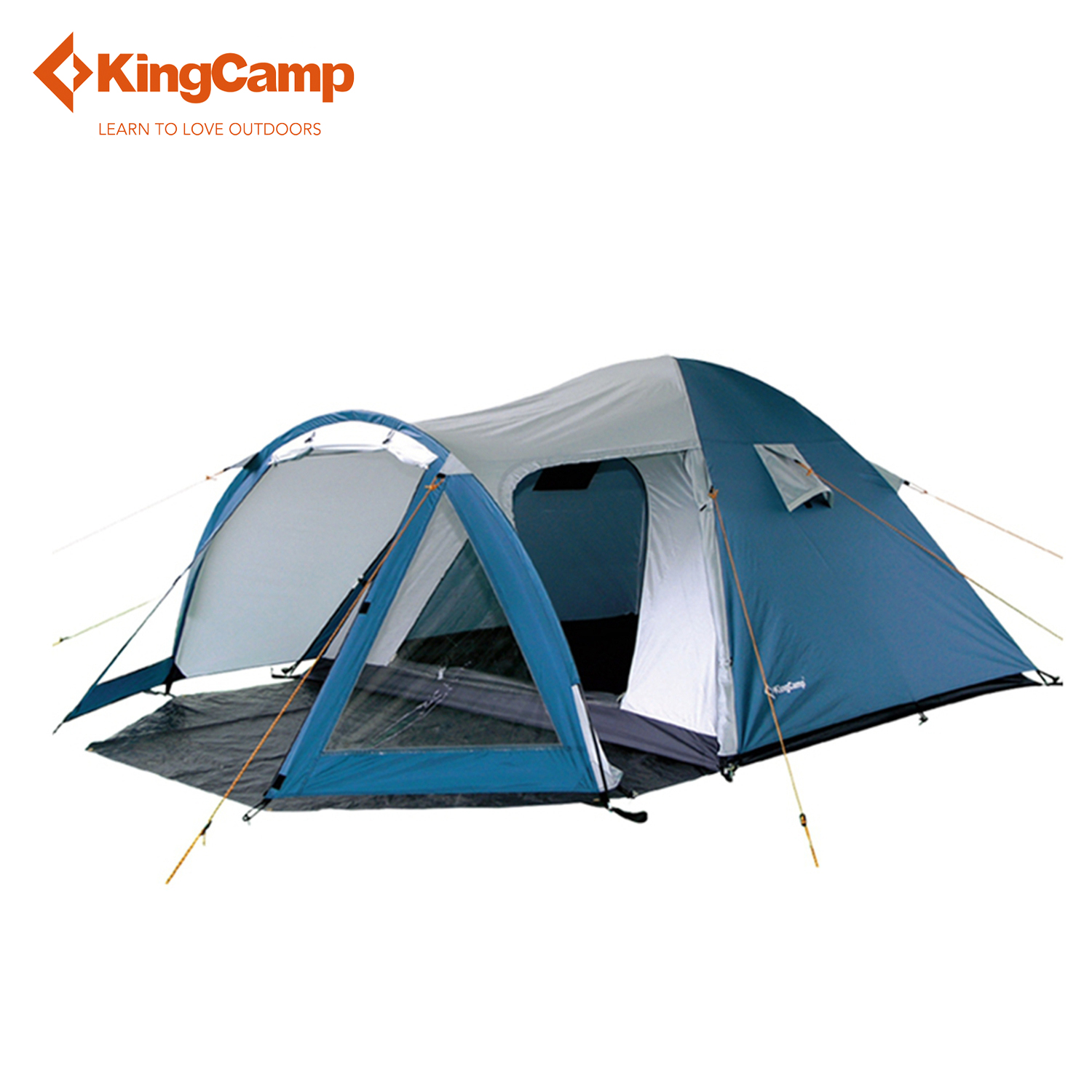KingCamp Weekend Fire-resistant 3-Person Camping tent waterproof,3-Season outdoor Tent for Family Camping,Backpacking