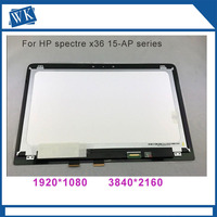 15.6 inch LCD LED Display Touch Digitizer Assembly For HP Spectre X360 15 ap series 15 ap018ca 15 ap011dx 15 ap062nr 15 ap052n