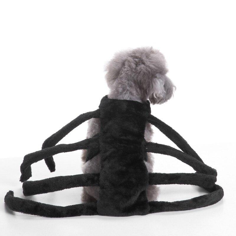Pet Hunde Kleidung Halloween Lustige Spider Verklärung Hund Katzen Mäntel Hunde Jacken Sets Größe SL