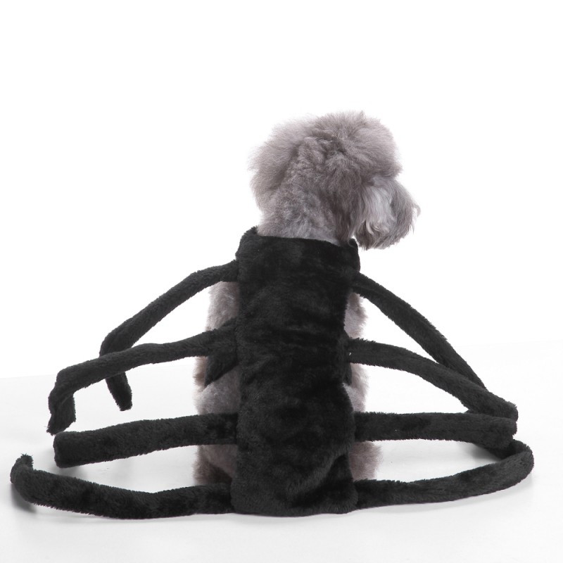 Pet Dogs Clothes Halloween Funny Spider Transfiguration Dog Cats Coats Dogs Jackets Sets Size S L