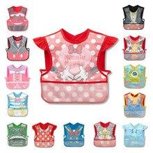 Одежда для малышей; водонепроницаемый слюнявчик для мальчиков и девочек; полотенце с героями мультфильмов для малышей; одежда для малышей; аксессуары