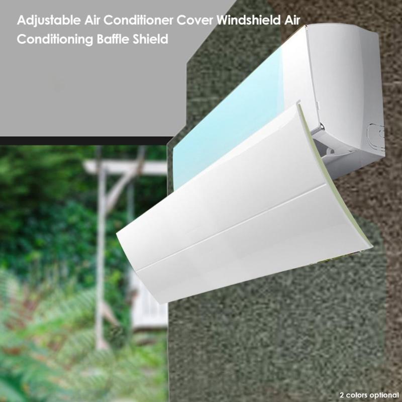 Anti Direct Blowing Retractable Air Conditioner Shield Cold Air Conditioner Wind Deflector Baffle