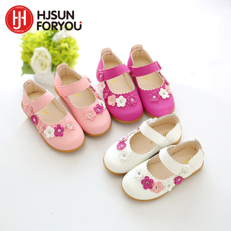 2019 New Spring Summer Children Sandals Soft Girl Flat Shoes Fashion Party Princess Shoes Flower Non-slip Baby Shoes2019 New Spring Summer Children Sandals Soft Girl Flat Shoes Fashion Party Princess Shoes Flower Non-slip Baby Shoes