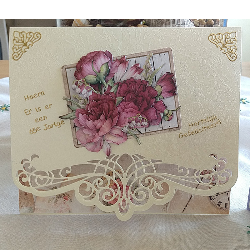 DIY Wish Wave Edge For Card Making Scrapbooking Metal