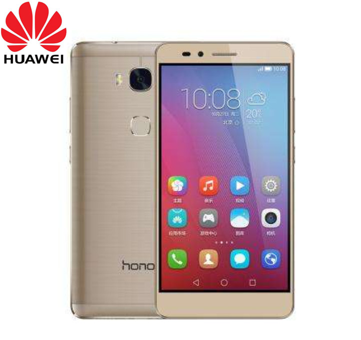 """Оригинальный глобальной прошивки Huawei Honor 5X Play 4G LTE Мобильного Телефона MSM8939 5,5 """"FHD 1920X1080 3 ГБ Оперативная память 16 ГБ Встроенная память 13.0MP отпечатков пальцев"""