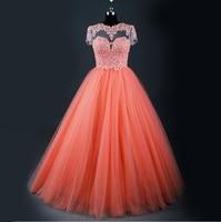 RSE605 Short Sleeve Keyhole Back Elegant Long Evening Gowns China